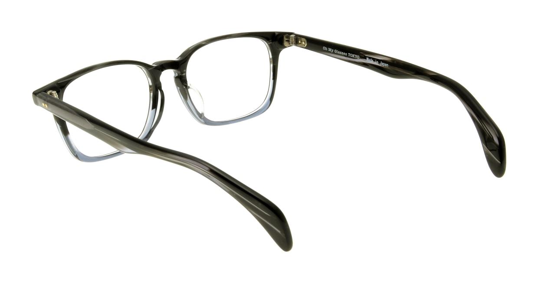 Oh My Glasses TOKYO Marc omg-008-5-51 +1.0 [黒縁/ウェリントン]  3