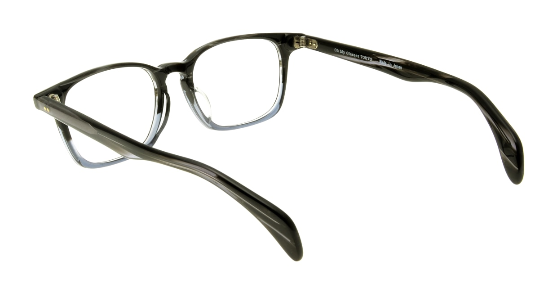 Oh My Glasses TOKYO Marc omg-008-5-51 +1.5 [黒縁/ウェリントン]  3