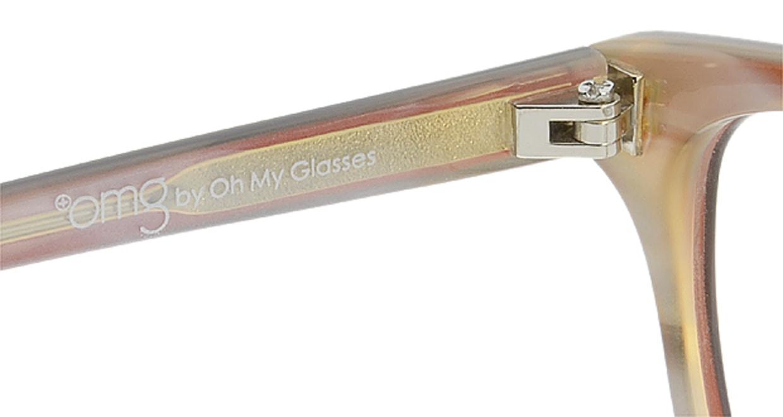プラスオーエムジー ベース メグ omg-022-5 +1.0 [黒縁/ウェリントン/安い]  6