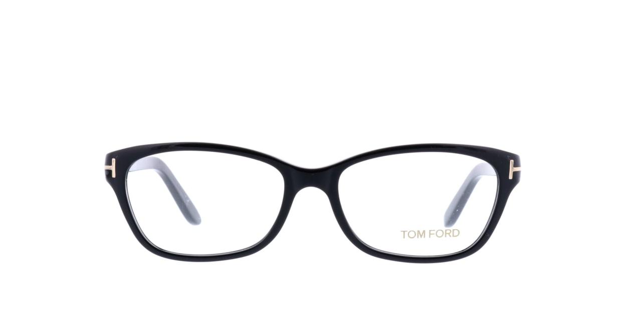 トムフォード FT5142-001-52 [黒縁/ウェリントン]
