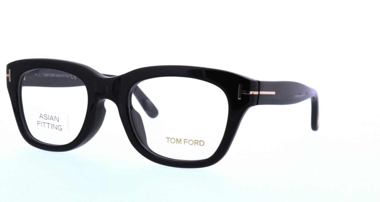 トムフォード FT5178FAsianFit-001-51 [黒縁/ウェリントン]  1