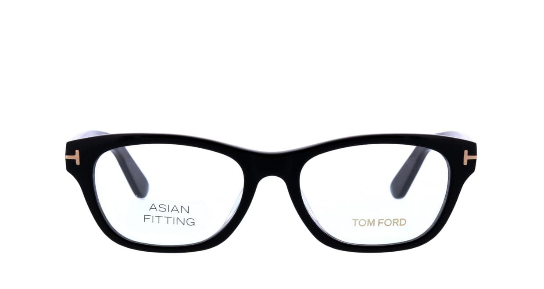 トムフォード FT5425F-001-53 ASIAN FITTING [黒縁/ウェリントン]