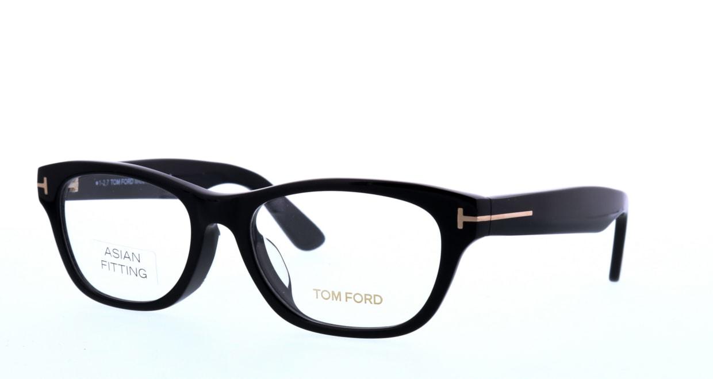 トムフォード FT5425F-001-53 ASIAN FITTING [黒縁/ウェリントン]  1