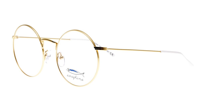 サラギーナELENA-309V-51 [メタル/丸メガネ/ゴールド]  1