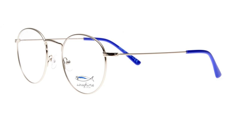 サラギーナ MASO-308-V50 [メタル/丸メガネ/シルバー]  1