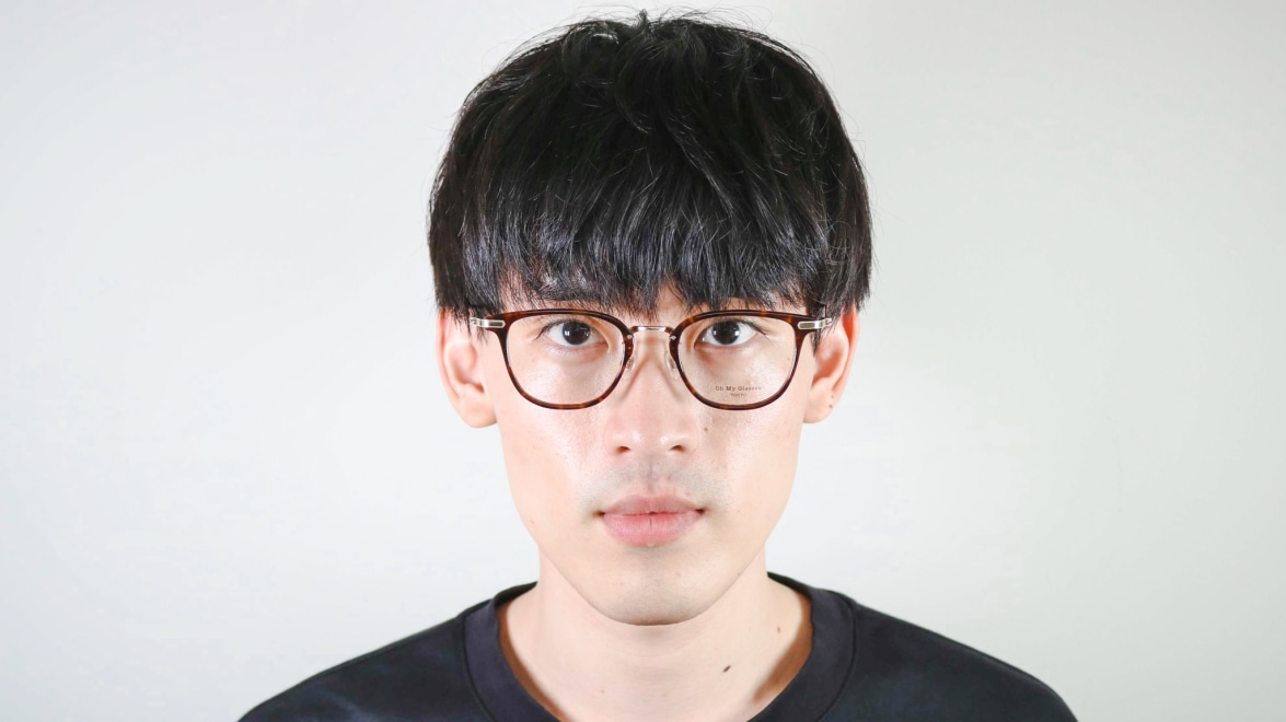 Oh My Glasses TOKYO Otto omg-082-13-10 [鯖江産/ウェリントン/べっ甲柄]  4
