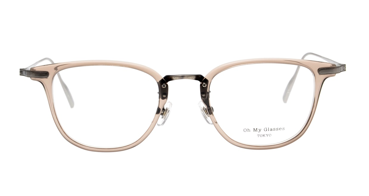 Oh My Glasses TOKYO Otto omg-082-35-20 [鯖江産/ウェリントン/透明]