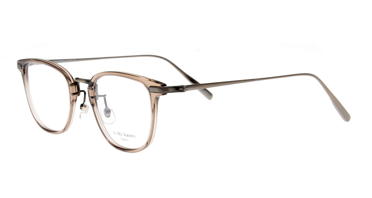 Oh My Glasses TOKYO Otto omg-082-35-20 [鯖江産/ウェリントン/透明]  1