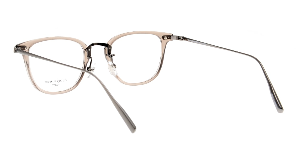 Oh My Glasses TOKYO Otto omg-082-35-20 [鯖江産/ウェリントン/透明]  3