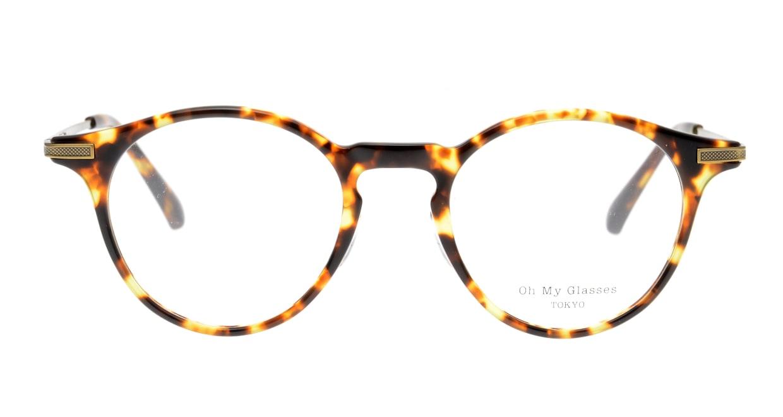 Oh My Glasses TOKYO Jamie omg-053-5-47 [鯖江産/丸メガネ/べっ甲柄]