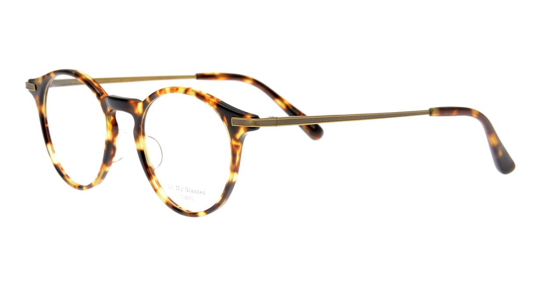 Oh My Glasses TOKYO Jamie omg-053-5-47 [鯖江産/丸メガネ/べっ甲柄]  1