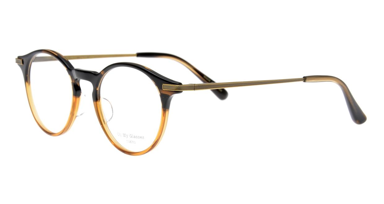 Oh My Glasses TOKYO Jamie omg-053-7-47 [鯖江産/丸メガネ/派手]  1