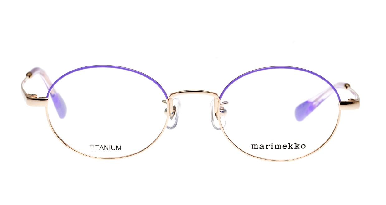 マリメッコ 32-0009-06-48 [メタル/丸メガネ/紫]