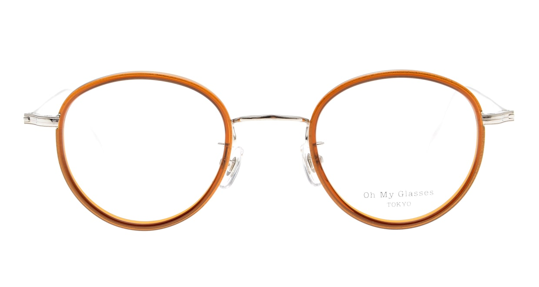 Oh My Glasses TOKYO Raymond omg-065-7-45 [鯖江産/丸メガネ/茶色]
