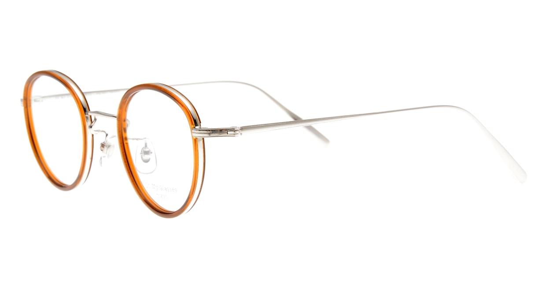 Oh My Glasses TOKYO Raymond omg-065-7-45 [鯖江産/丸メガネ/茶色]  1