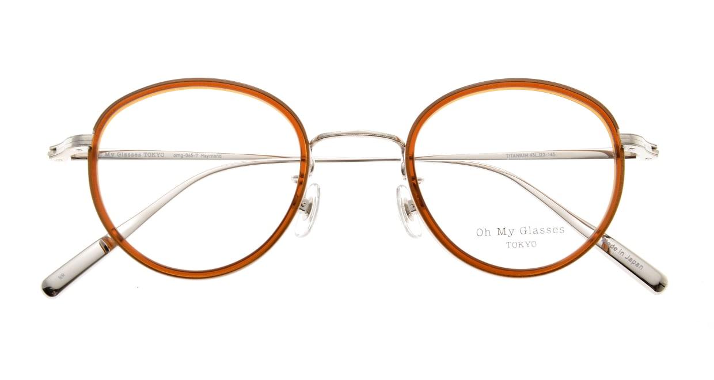 Oh My Glasses TOKYO Raymond omg-065-7-45 [鯖江産/丸メガネ/茶色]  4