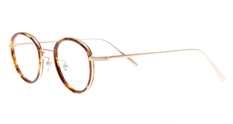 Oh My Glasses TOKYO Raymond omg-065-8-45 [鯖江産/丸メガネ/べっ甲柄]  1