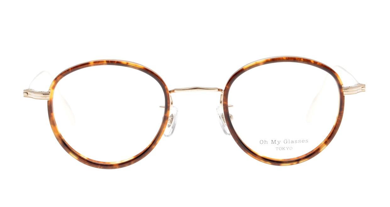 Oh My Glasses TOKYO Raymond omg-065-8-45 [鯖江産/丸メガネ/べっ甲柄]
