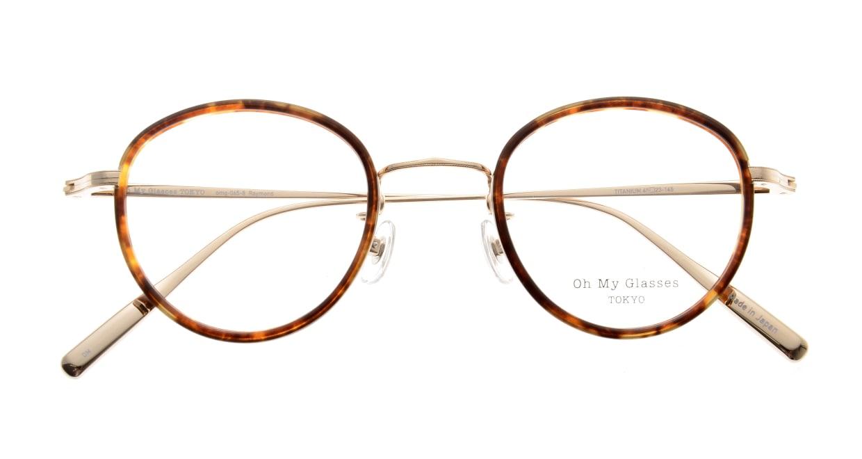 Oh My Glasses TOKYO Raymond omg-065-8-45 [鯖江産/丸メガネ/べっ甲柄]  4