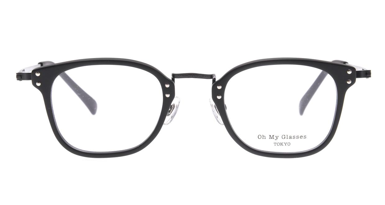 Oh My Glasses TOKYO Ivy omg-080-MBKー46 [黒縁/鯖江産/ウェリントン]