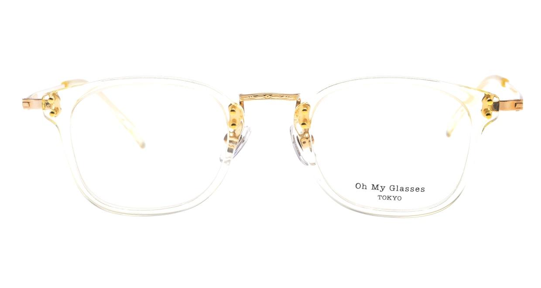 Oh My Glasses TOKYO Ivy omg-080-YPー46 [黒縁/鯖江産/ウェリントン]