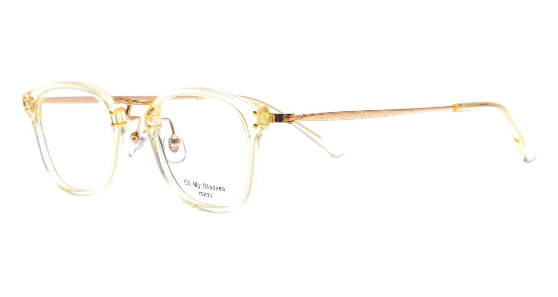 Oh My Glasses TOKYO Ivy omg-080-YPー46 [黒縁/鯖江産/ウェリントン]  1