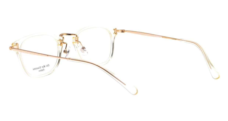Oh My Glasses TOKYO Ivy omg-080-YPー46 [黒縁/鯖江産/ウェリントン]  3
