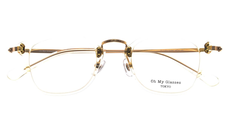 Oh My Glasses TOKYO Ivy omg-080-YPー46 [黒縁/鯖江産/ウェリントン]  4
