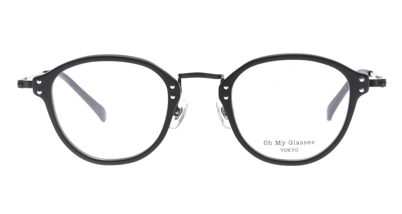 Oh My Glasses TOKYO Keith omg-081-MBKー46 [黒縁/鯖江産/丸メガネ]