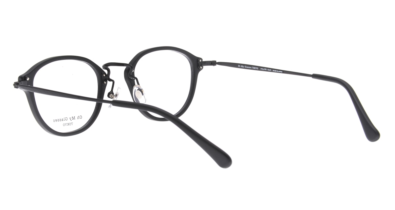 Oh My Glasses TOKYO Keith omg-081-MBKー46 [黒縁/鯖江産/丸メガネ]  3