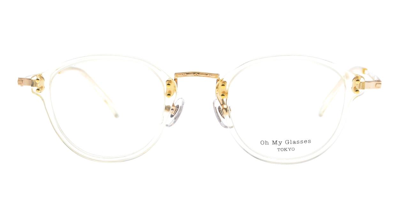 Oh My Glasses TOKYO Keith omg-081-YPー46 [鯖江産/丸メガネ/透明]