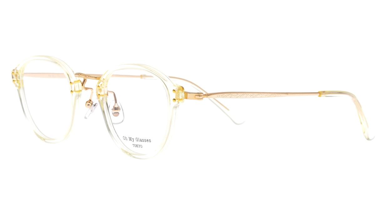 Oh My Glasses TOKYO Keith omg-081-YPー46 [鯖江産/丸メガネ/透明]  1