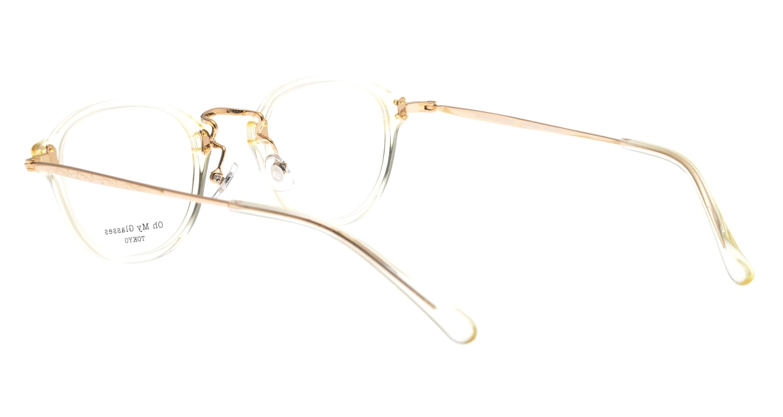 Oh My Glasses TOKYO Keith omg-081-YPー46 [鯖江産/丸メガネ/透明]  3