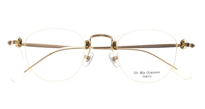 Oh My Glasses TOKYO Keith omg-081-YPー46 [鯖江産/丸メガネ/透明]  4