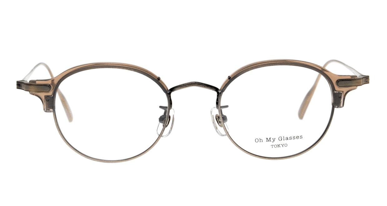 Oh My Glasses TOKYO Ralph omg-083-GRY-10 [鯖江産/丸メガネ/グレー]