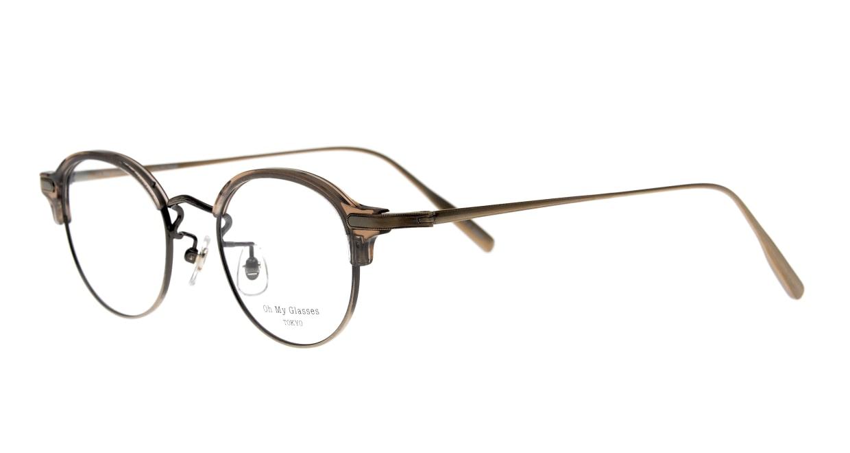 Oh My Glasses TOKYO Ralph omg-083-GRY-10 [鯖江産/丸メガネ/グレー]  1
