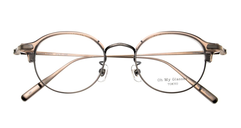 Oh My Glasses TOKYO Ralph omg-083-GRY-10 [鯖江産/丸メガネ/グレー]  4