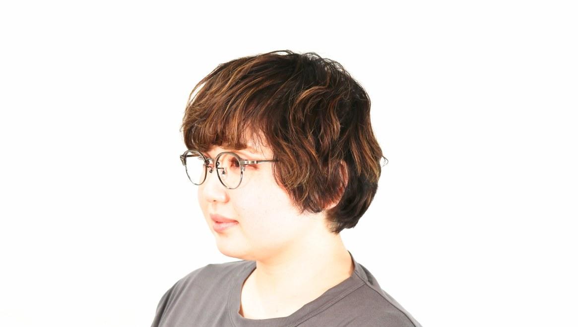 Oh My Glasses TOKYO Ralph omg-083-GRY-10 [鯖江産/丸メガネ/グレー]  8