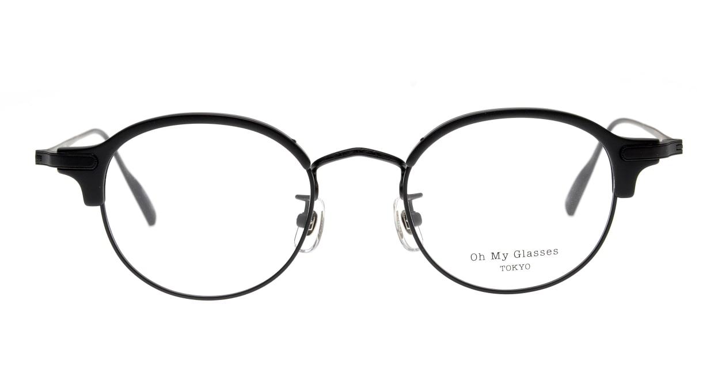 Oh My Glasses TOKYO Ralph omg-083-MBK-1 [黒縁/鯖江産/丸メガネ]