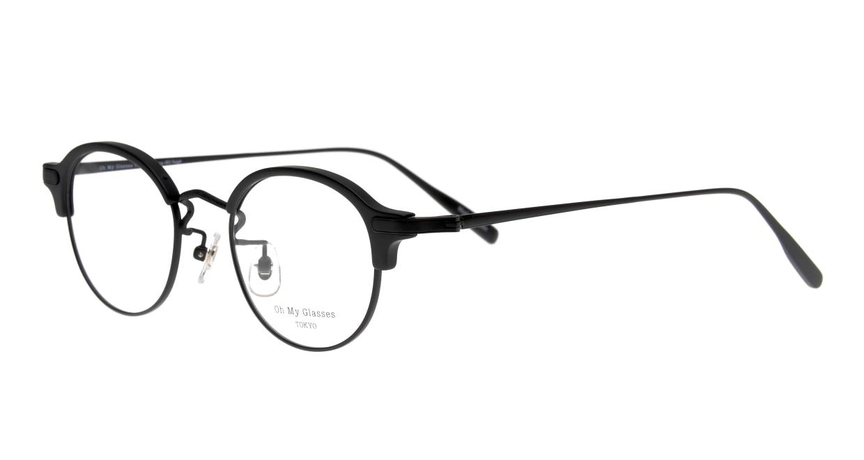 Oh My Glasses TOKYO Ralph omg-083-MBK-1 [黒縁/鯖江産/丸メガネ]  1