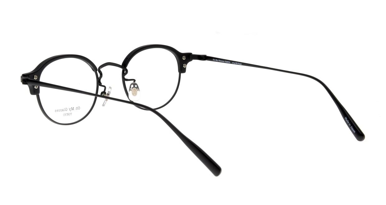 Oh My Glasses TOKYO Ralph omg-083-MBK-1 [黒縁/鯖江産/丸メガネ]  3