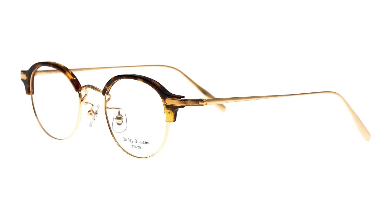 Oh My Glasses TOKYO Ralph omg-083-DM-20 [鯖江産/丸メガネ/べっ甲柄]  1