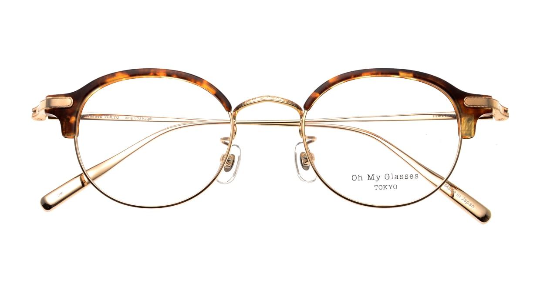 Oh My Glasses TOKYO Ralph omg-083-DM-20 [鯖江産/丸メガネ/べっ甲柄]  4