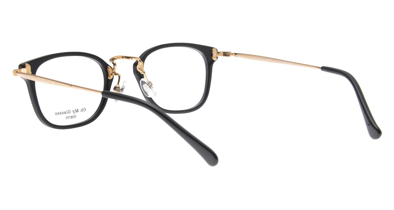 Oh My Glasses TOKYO Ivy omg-080-BKー46 [黒縁/鯖江産/ウェリントン]  3
