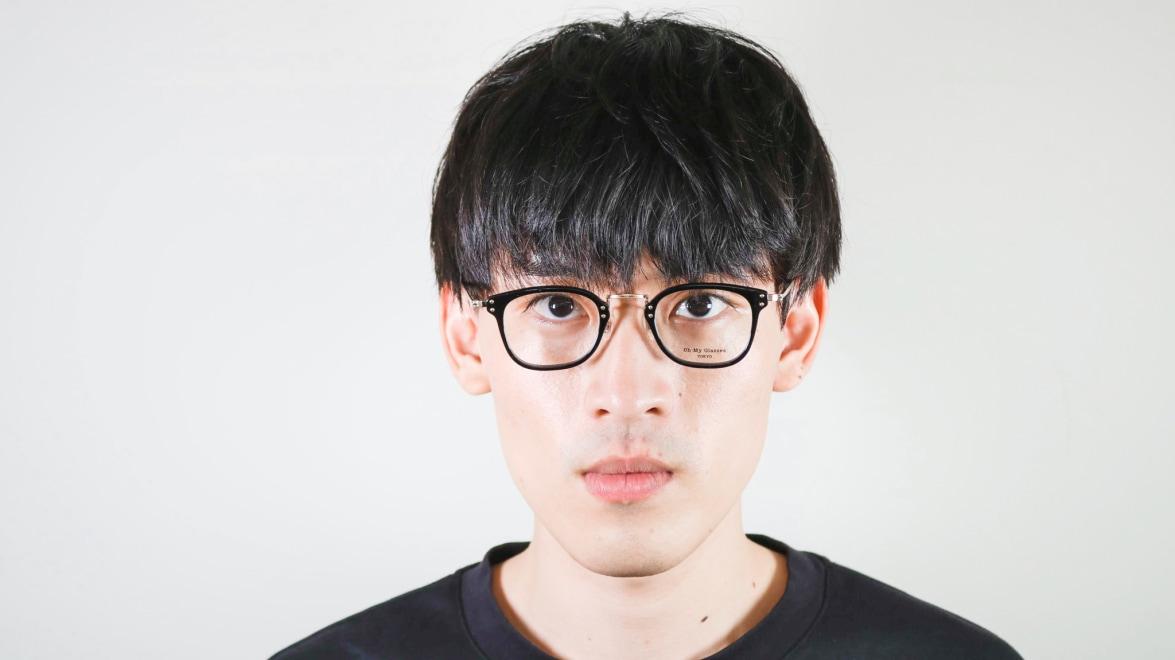 Oh My Glasses TOKYO Ivy omg-080-BKー46 [黒縁/鯖江産/ウェリントン]  5