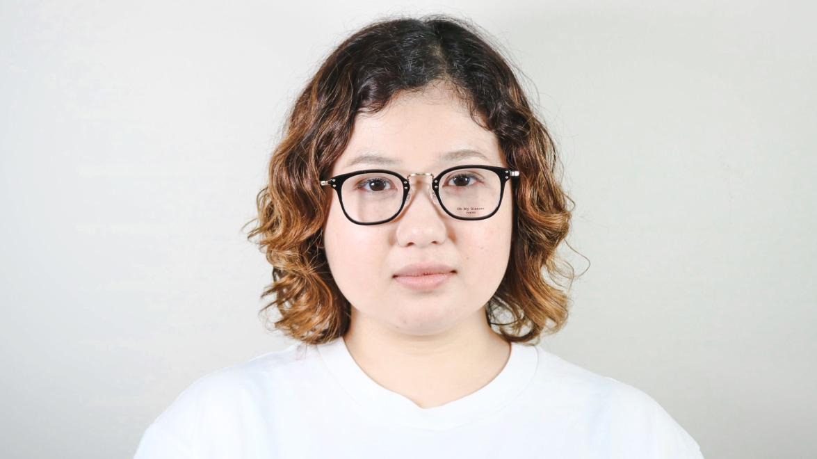 Oh My Glasses TOKYO Ivy omg-080-BKー46 [黒縁/鯖江産/ウェリントン]  7