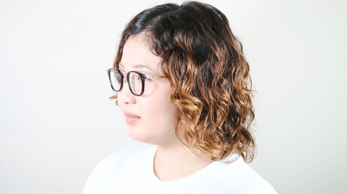 Oh My Glasses TOKYO Ivy omg-080-BKー46 [黒縁/鯖江産/ウェリントン]  8