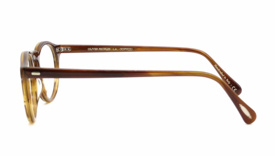 オリバーピープルズOV5186 GREGRORY PECK-J-1011-45 [丸メガネ/茶色]  2