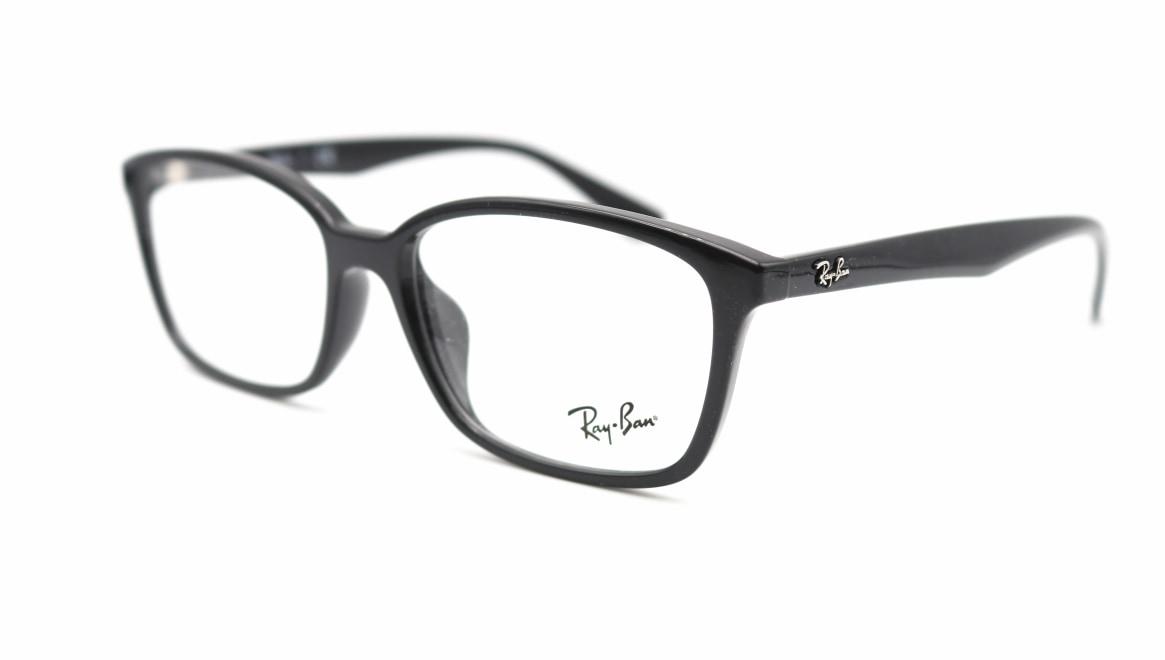レイバン RX7094D-2000-55 [黒縁/スクエア]  1