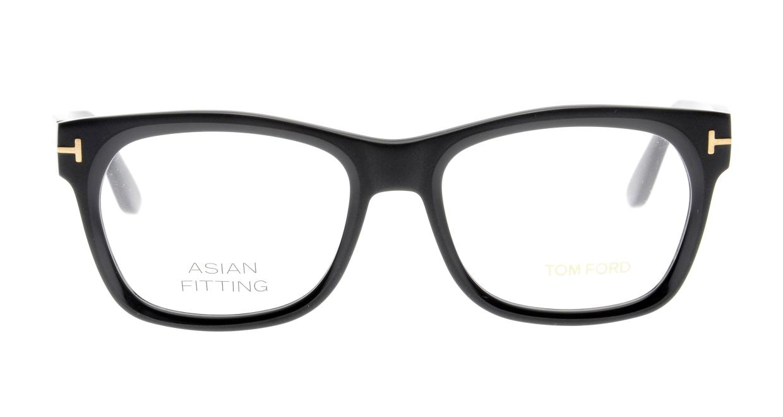 トムフォード FT5468F AsianFit-002-55 [黒縁/ウェリントン]